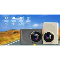 Xiaomi Yi Smart Car Dash Cam Camera DVR MOBIL Wifi 1080P Gold Silver