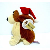 Boneka Hush Puppies Original Christmas Edition Basset Hound