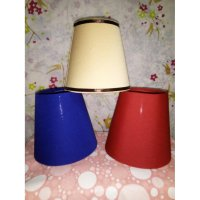 kap lampu, lamp shade small rainbow