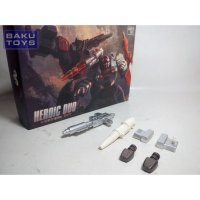 Heroic Duo Custom Kit Add On for Transformers Universe Sideswipe