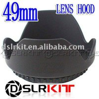 [globalbuy] (Screw Mount) 49mm Lens Hood Petal Crown Flower Shape/1960815