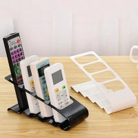 Remote Control Stand Holder Rack Rak Tempat Penyimpan Remote TV AC DVD