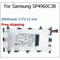 [globalbuy] 4000mah 3.7V SP4960C3B Battery for Samsung for Galaxy Tab 2 7.0 P3100 P6200 GT/3211631