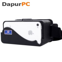 Cardboard Virtual Reality for iPhone 5/5s/5c Head Mount DIY Plastic