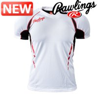 Rawlings Baseball T-shirt / DS-ASS4S01WT / RAWLINGSV Neck Short Sleeve Summer T ASS4S01 [white] / sell