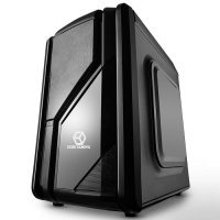 CUBE GAMING CAYENNE BLACK - 12CM LED FAN + USB 3.0 - Cube Size - ATX