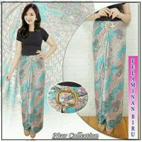 Cj collection Rok lilit batik panjang wanita jumbo long skirt Safira