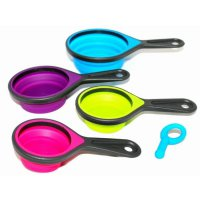 T2105 Oxone 4pcs Folding Silicone Measuring Cups (OX-914)
