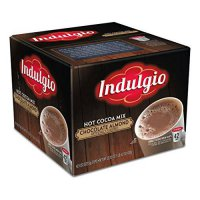 [poledit] Indulgio Chocolate Almond Hot Cocoa Single Serve K-cup, 42 Count (Compatible wit/14291414