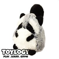 Boneka Streli Rakun ( Raccoon Stuffed Plush Animal Bird Doll ) 7 inch