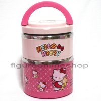 RANTANG STAINLES HELLO KITTY 2 SUSUN (SIZE M)