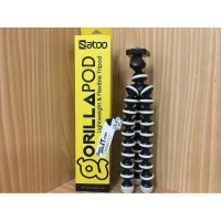 TONGSIS TRIPOD GORILLAPOD SATOO(STP-GP20) For All Action Camera-Size M