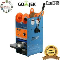 Mesin cup sealer Eton - press gelas minuman - khusus Go