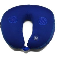 Spesial Bantal Leher Pijat Musik Mp3 Travel Pillow Massage Limited