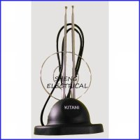 Antena TV Indoor Portable Model Panjang/ Model V