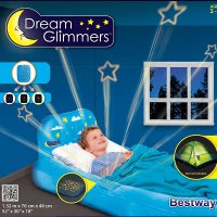 Kasur Angin Anak Dream Glimmers Bestway 67496 - Blue