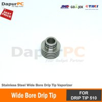 Wide Bore Drip Tip Stainless Steel Vaporizer for drip tip 510