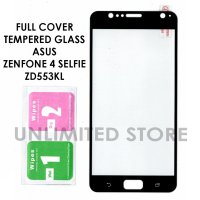 Asus Zenfone 4 Selfie ZD553KL Full Cover Tempered Glass Antigores Kaca