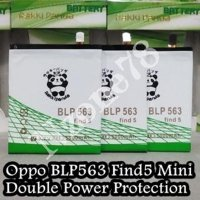 Baterai Oppo Find 5 Find5 Mini R827 Blp563 Double Power Ic Protection