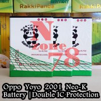 Baterai Oppo Yoyo R1 Neo K Blp565 Double Ic Protection