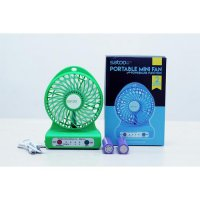 Portable Mini Fan SATOO SMF-S1 With Powerbank 6000mAh Lithium Battery