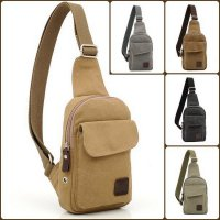 New Tas Sling Bag Earphone Hole Tas Kanvas Gadget Max 8 Inch Termurah08