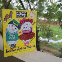 Buku My Own World 5, Coloring for Adults (Fashion Animal World)