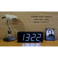 JAM DIGITAL DINDING LED PUTIH / SPECIAL PRICE !!!!