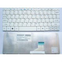 Keyboard Acer Aspire One 532H Happy Happy2 Nav50 D270 D257 AO532 Putih
