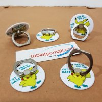 Ring Stand Pikachu Bulat iRing for Smartphone