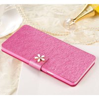 [globalbuy] Flip Cloth Skin Leather Case For Apple iPod Touch 6 Fashion Hit Color Full Pro/3654469