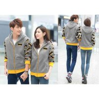 Couple Jaket Batman Abu LO jaket couple batman babyterry abu KMS