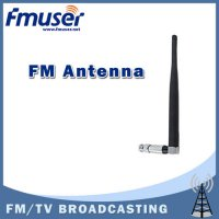 [globalbuy] Free shipping Rubber ducky short antenna BNC connector for FM radio broadcast /2929572