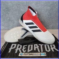 Adidas Predator Tango 18+ IN - White/Black/Red