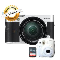 (Kamera Mirrorless) Fujifilm X-A3 / Fuji X-A3 / XA3 Kit 16-50mm Kamera Mirrorless - Silver