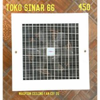 Maspion Ceiling Exhaust Fan Cef-20 Kipas Angin Hisap Langit 8 HargaPrommo07