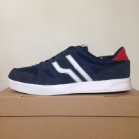Sepatu Casual Piero Falcon Navy Red White P10542 Original BNIB