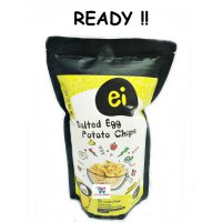 READY ! Ei Salted Egg Potato Chips 90 Gram