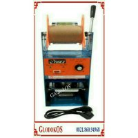 Mesin Press Gelas minuman Cup Sealer Eton ET-D8 + Plast