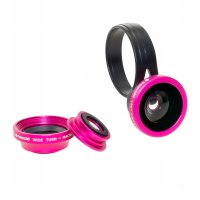 Polaroid 3 in 1 Compact Lens CL3 - Rose Red
