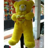 Boneka teddy bear 120 cm + bordir bantal love - Terlariss!