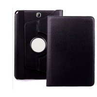 [globalbuy] For Samsung Galaxy Tab A 8.0 T350 T355 8inch Case 360 Rotatable PU Leather Sta/3083325