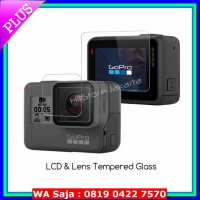 #Action Camera GoPro Hero 5 Tempered Glass Lens & LCD Protector Anti Gores GoPro 5