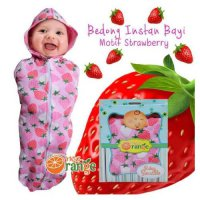 Nea Orange Bedong Instan Baby - Strawberry