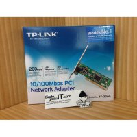 LAN CARD TP-LINK 10/100Mbps PCI Express Network Adapter TF-3200
