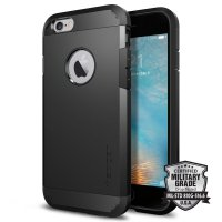 Spigen iPhone 6 Plus Case Tough Armor SGP10914 - Smooth Black