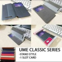 FlipCover Samsung Note 8 N950 6.3inc Flip Case Sarung Buku UME Classic