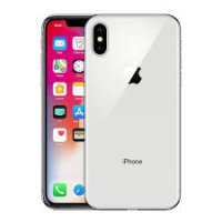 Apple iPhone X 256GB - Silver - Garansi International