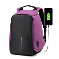 Tas Ransel USB port charger,Smart Backpack Anti Air Ant Diskon