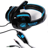 Headset Gaming Sades GPower 708